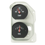 1971-1972 Chevelle SS Temperature and Fuel Gauge