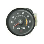 1971-72 Chevelle SS Tachometer with 5000 Red Line