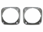1971 EL CAMINO HEADLAMP BEZEL SET