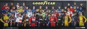 CLASS OF 2011 NASCAR POSTER
