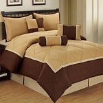 Down-Alternative Microfiber Comforter Bedding Sets