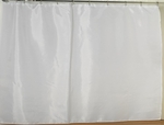 Extra-Wide Fabric Shower Curtain Liners - Washable, Water Repellent, 100% Polyester