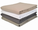 Massage Table Flat Sheets - Spa-Touch Brushed Microfiber
