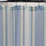 Standard Fabric Shower Curtains - Blue Sonoma Stripe, 70x72