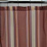 Standard Fabric Shower Curtains - Rose Sonoma Stripe, 70x72