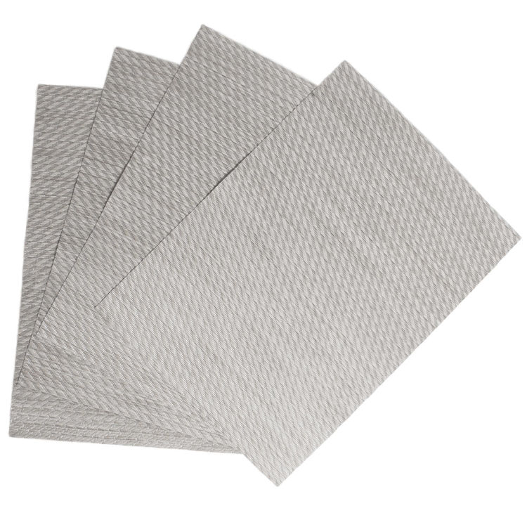 Whole Twill Ice Woven Vinyl Placemats Weave Easy Clean Durable
