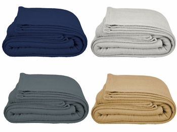 Dura-Fleece Hospitality Blankets Wholesale - Long-Lasting, Durable, Non-Pilling