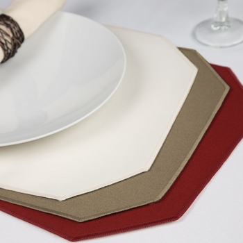 Fabric Placemats Wholesale - Riegel Premier Spun Polyester