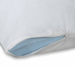 Economy T-160 Zippered Pillow Protectors - 55% Cotton/45% Polyester Fabric