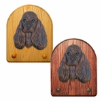 American Cocker Spaniel Key Rack-Brown