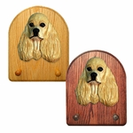 American Cocker Spaniel Key Rack-Buff
