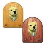 American Staffordshire Terrier Key Rack-Tan