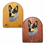 Australian Cattle Dog Key Rack-Blue
