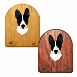 Basenji Key Rack-Black-White