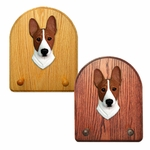 Basenji Key Rack-Red-White