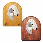Bedlington Terrier Key Rack-Blue
