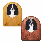 Cavalier King Charles Spaniel Key Rack-Black Tri
