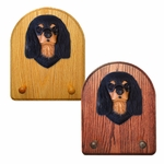 Cavalier King Charles Spaniel Key Rack-BlackandTan