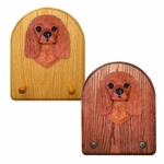 Cavalier King Charles Spaniel Key Rack-Ruby
