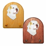 Clumber Spaniel Key Rack-Lemon