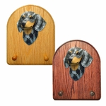 Dachshund smooth Key Rack-Blue Dapple