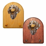 Dachshund smooth Key Rack-Red Dapple