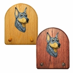 Doberman Key Rack-Blue