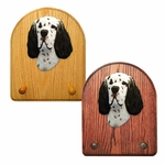 English Setter Key Rack-Black