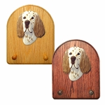 English Setter Key Rack-Liver