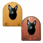 German Shepherd Key Rack-Black