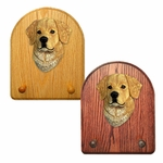 Golden Retriever Key Rack-Light