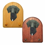 Great Dane natural Key Rack-Black