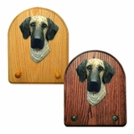 Great Dane natural Key Rack-Brindle
