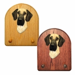 Great Dane natural Key Rack-Fawn