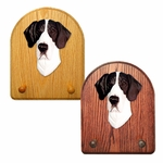 Great Dane natural Key Rack-Mantle