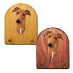 Greyhound Key Rack-Red
