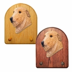 Irish Wolfhound Key Rack-Fawn