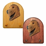 Irish Wolfhound Key Rack-Red