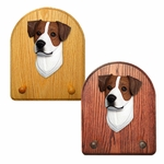 Jack Russell Terrier Key Rack-Brown-White