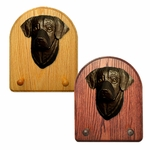 Labrador Retriever Key Rack-Black