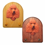 Poodle Key Rack-Red