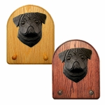 Pug Key Rack-Black