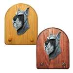 Schnauzer standard Key Rack-Salt-Pepper
