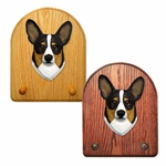 Welsh Corgi pembroke Key Rack-Tri