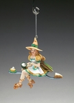 A Zap of Zest Kitchen Witch Ornament
