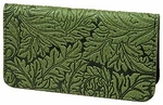 Acanthus Leaf Leather Card Holder