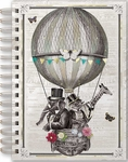 Air Balloon Animals Spiral Bound Journal
