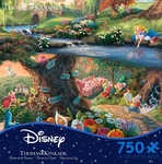 Thomas Kinkade Alice in Wonderland Puzzle