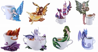 Amy Brown Beverage Fairy Set 2