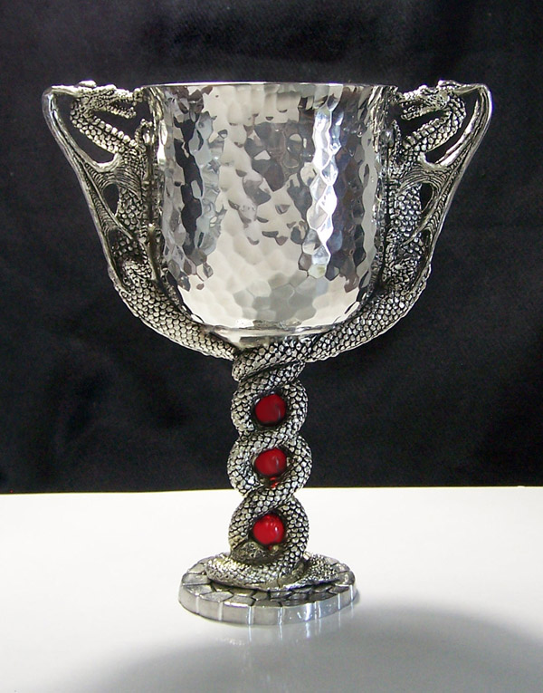 Ancient Dragons Goblet Pewter Wedding Goblets Dragon Gifts